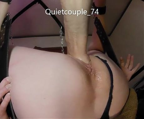 Restrained wife gets fisted