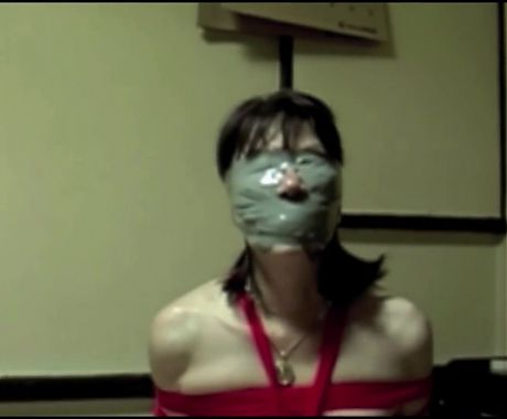 Asian Girl – Duct Taped Breathplay