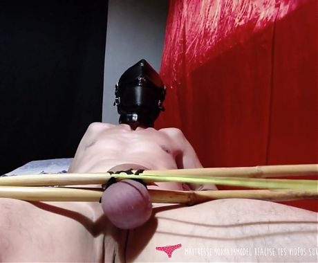Vends-ta-culotte - Cock Torture by French Sadistic Mistress