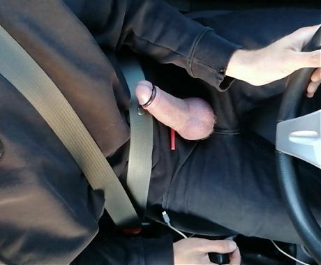 Cock ring jerking while driving