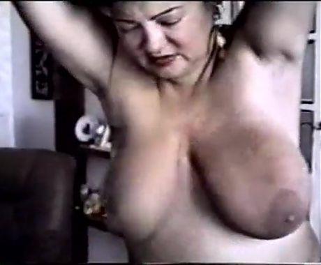 Vintage Big Tit Mature Slave