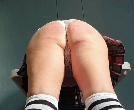 Caned for not doing her lines