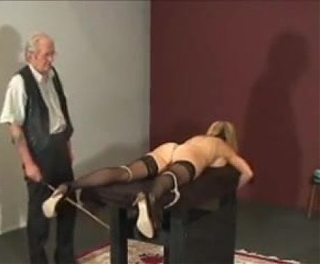 MILF caning and flogged