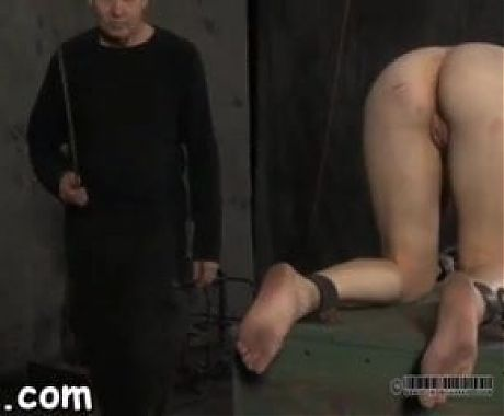 Bound girl tit slapped and punched 2