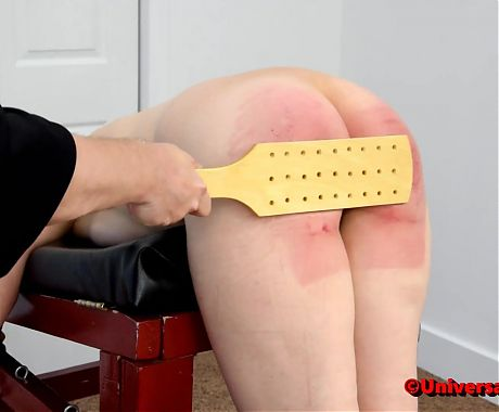 Naked Judicial Punishment #2 - Spanking